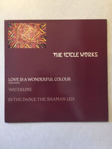 """THE ICICLE WORKS """"Love Is A Wonderful Colour"""" Vinyl 12"""" (1983)"""