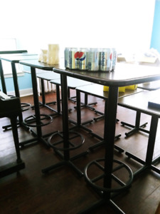 Tables (bar & other) for sale