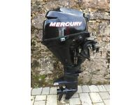 Mercury 8hp short shaft four stroke outboard boat engine bargain!