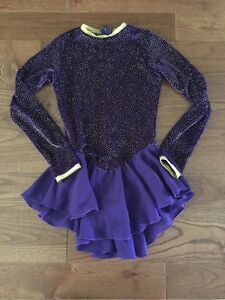 Figure skating outfit size 8-10