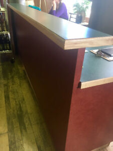 Long Counter with Eating Bar