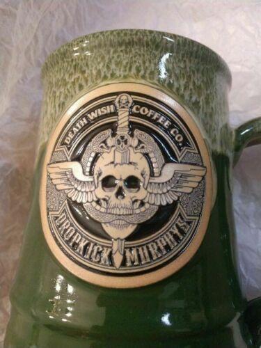 2021 Death Wish Coffee Dropkick Murphys Claddagh Fund Mug Deneen Low #