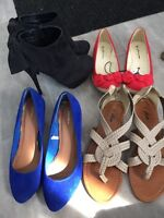 4 pairs of shoes to choose from or get them all