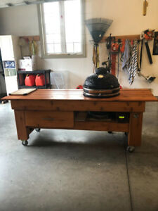 Louisiana grills egg and custom stand for sale