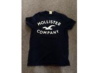Men's small Hollister t-shirt navy blue
