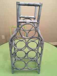 Wine Rack with Chalk Paint Distressed