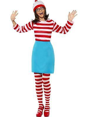 Wo Ist Wally? Wenda Kostüm, wo Ist Wally Lizenziert Kostüm, UK Größe - Wenda Wo Ist Wally Kostüm