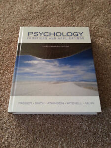 Psychology Frontiers and Applications, 3e [TEXTBOOK]