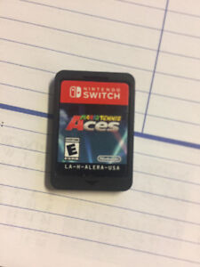 Mario Tennis Aces for Nintendo Switch (case included)