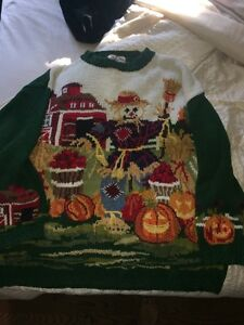 Large harvest/thanksgiving /Halloween sweater London Ontario image 1