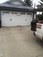 BRAND NEW GARAGE DOORS INSTALLED
