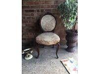 ANTIQUE CHAIR DRESSING TABLE BEDROOM HALWAY STUNNING FRENCH FREE DELIVERY