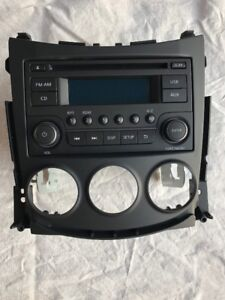 CD/Radio deck with face plate, 2018 Nissan 370Z