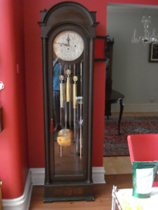 German Tubular Grandfather Clock-Warranty,Delivery,Setup Incl.