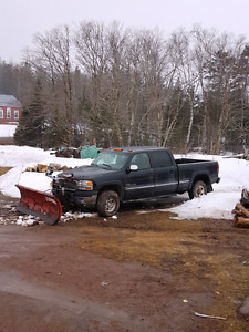 2002 GMC DURAMAX SLT WITH BOSS PLOW