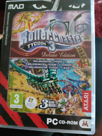 Rollercoaster Tycoon 3 delux edition
