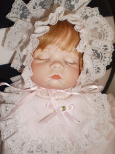 Adorable Hand Made Porcelain Baby Doll