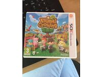 Animal crossing new leaf for 3DS