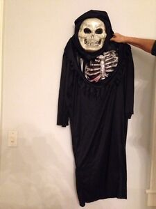 Black costume with chest piece