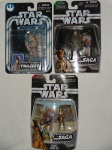 Star Wars Modern Figures MOC For Sale 1995-2006 ALMOST GONE!