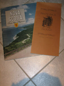 TWO INTERESTING and INFORMATIVE OLD NOVA SCOTIAN BROCHURES