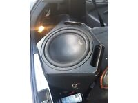 Fully work Juice sub woofer and GTO amp for sale