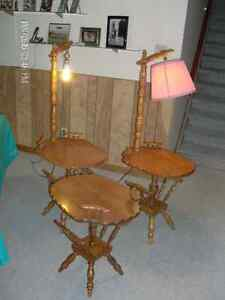 THREE Solid Maple Tables - $30 for the set Cornwall Ontario image 3