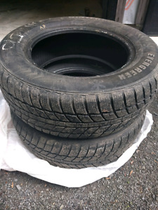 2 WINTER TIRES 205 65 R15