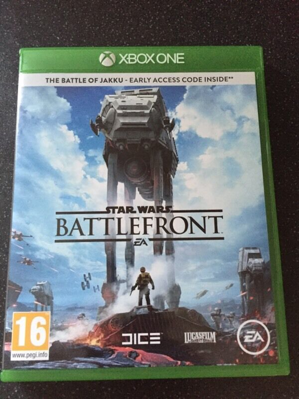 star wars battlefront xbox one for fallout 4 in newton. Black Bedroom Furniture Sets. Home Design Ideas
