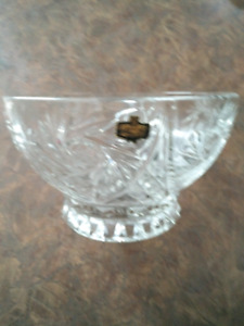 Crystal Fluted Bowl