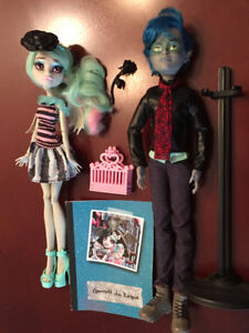 MONSTER HIGH DOLLS MORE BOY DOLLS billy Neighthan porter heath