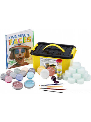 Snazaroo Professional Face Painters Painting Kit 1500+ Faces Carnival (Kits Face Painters)