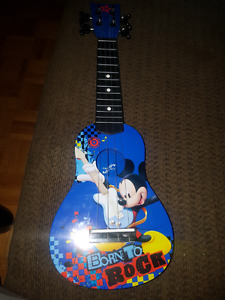 First act Mickey mouse guitar