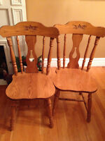 4 Matching Chairs for sale