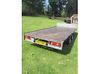 Ifor Williams 14ft flatbed trailer 2011