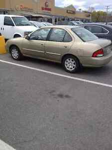 2001 Nissan Sentra Berline