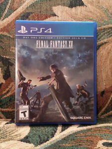 Final Fantasy XV / Final Fantasy 15 (PS4) for sale
