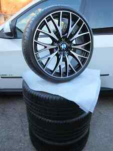 "2014 Factory 20"" Style 404 BMW F30,F31 335,340,435 summer set"