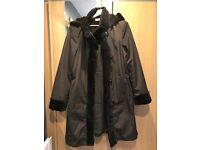 John Lewis coat/£40/size14
