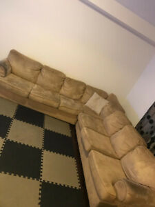 Selling L shape couch