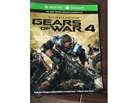 Xbox one ULTIMATE EDITION gears of war 4