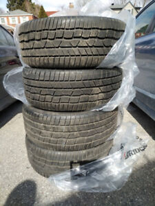 4x Continenetal ContiWinterContact 245/40R20 M+S winter tires