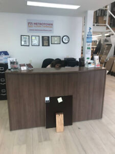 OFFICE FURNITURE - Reception Desk & Partitions