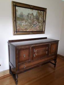 Antique Buffet and Hutch set - $500