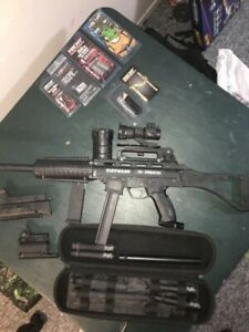 Maxed out Tippmann phenom paintball marker