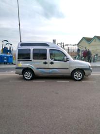 Fiat Doblo High Roof Campervan / Camper 2005 72,500 miles 12 month MOT