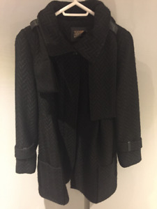 ***NEW*** MACKAGE wool scarf coat size S