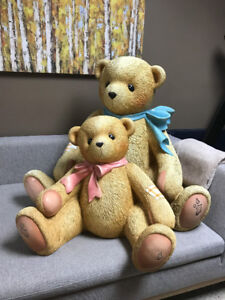 Rare lifesize Cherish teddies teddy bear RARE statue figurine