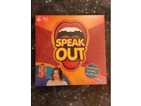 Hasbro Speak Out board game. SOLD OUT