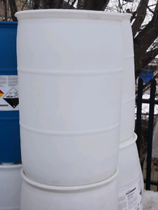 Barrels  food grade for rain or fock floats  composters